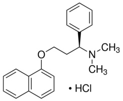 Dapoxetine structure